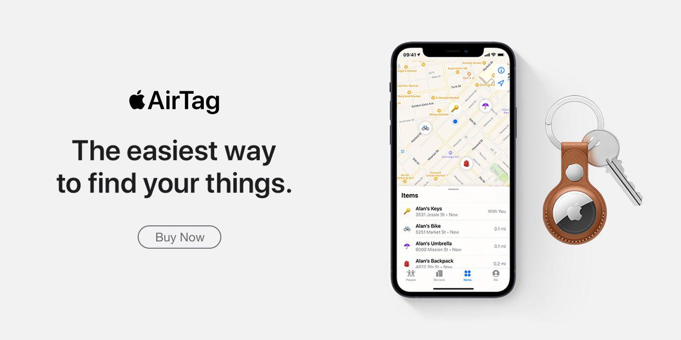 Apple AirTag Coming Soon