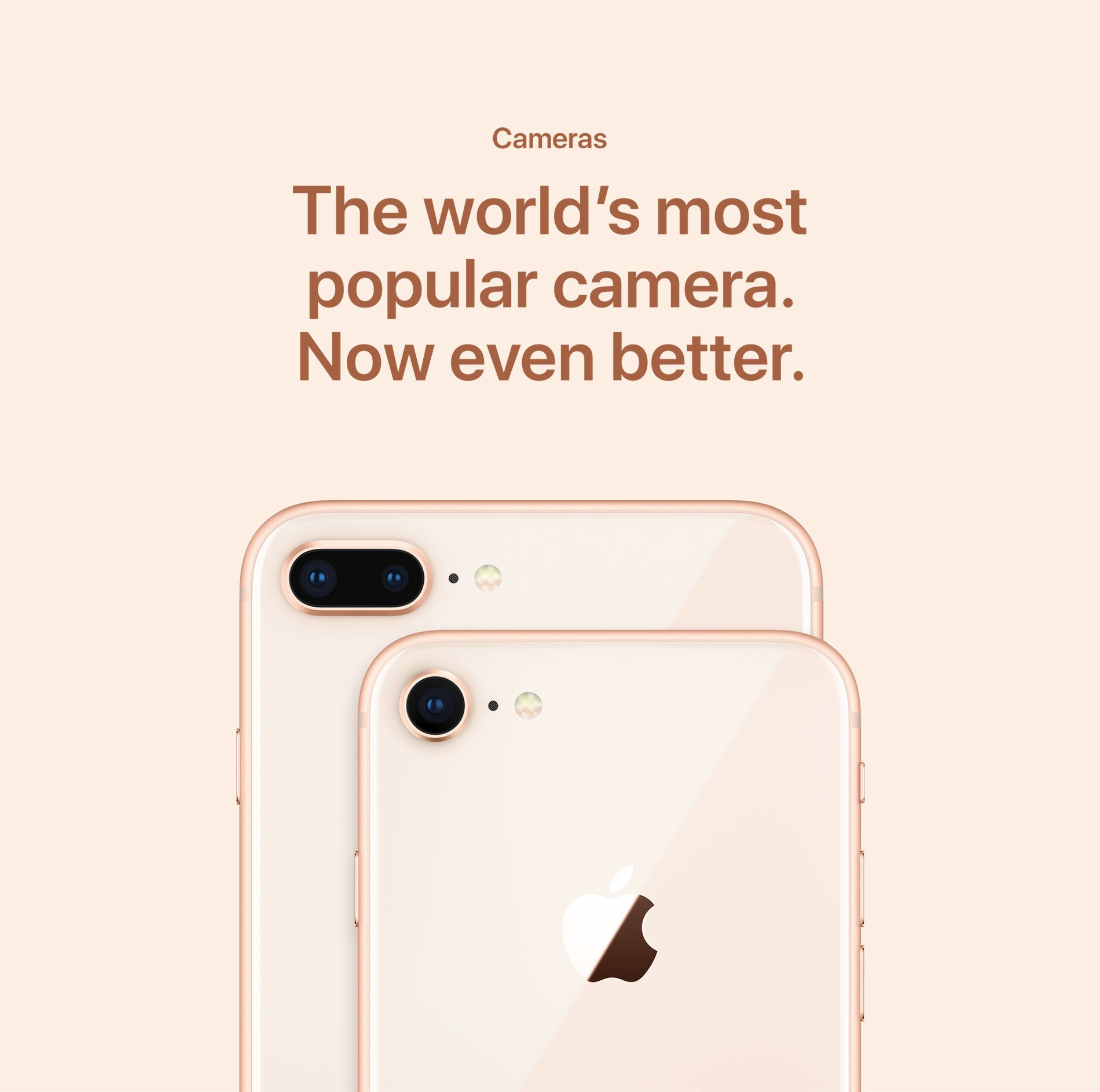 Cameras - The world's most popular camera. Now even better.