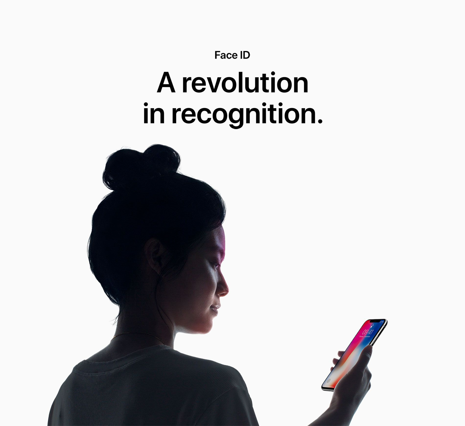 Face ID - A revolution in recognition.