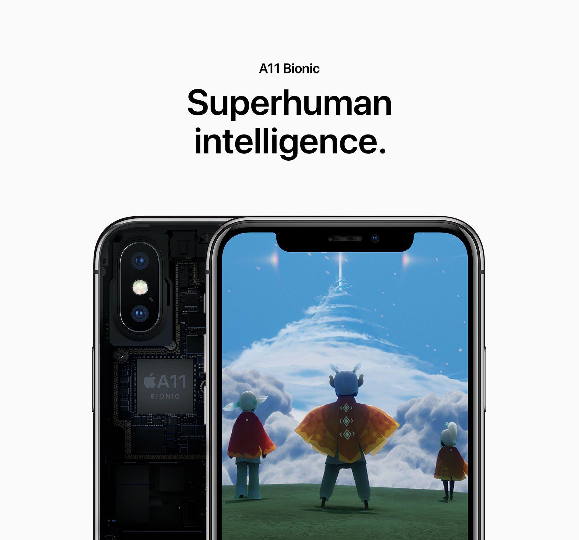 A11 Bionic - Superhuman intelligence.