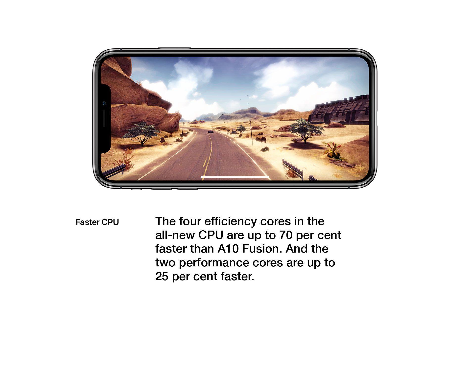Faster CPU