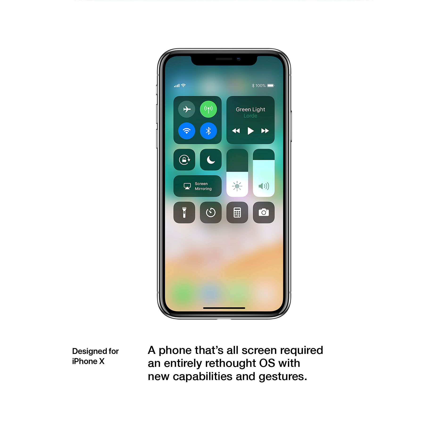 Designed for iPhone X