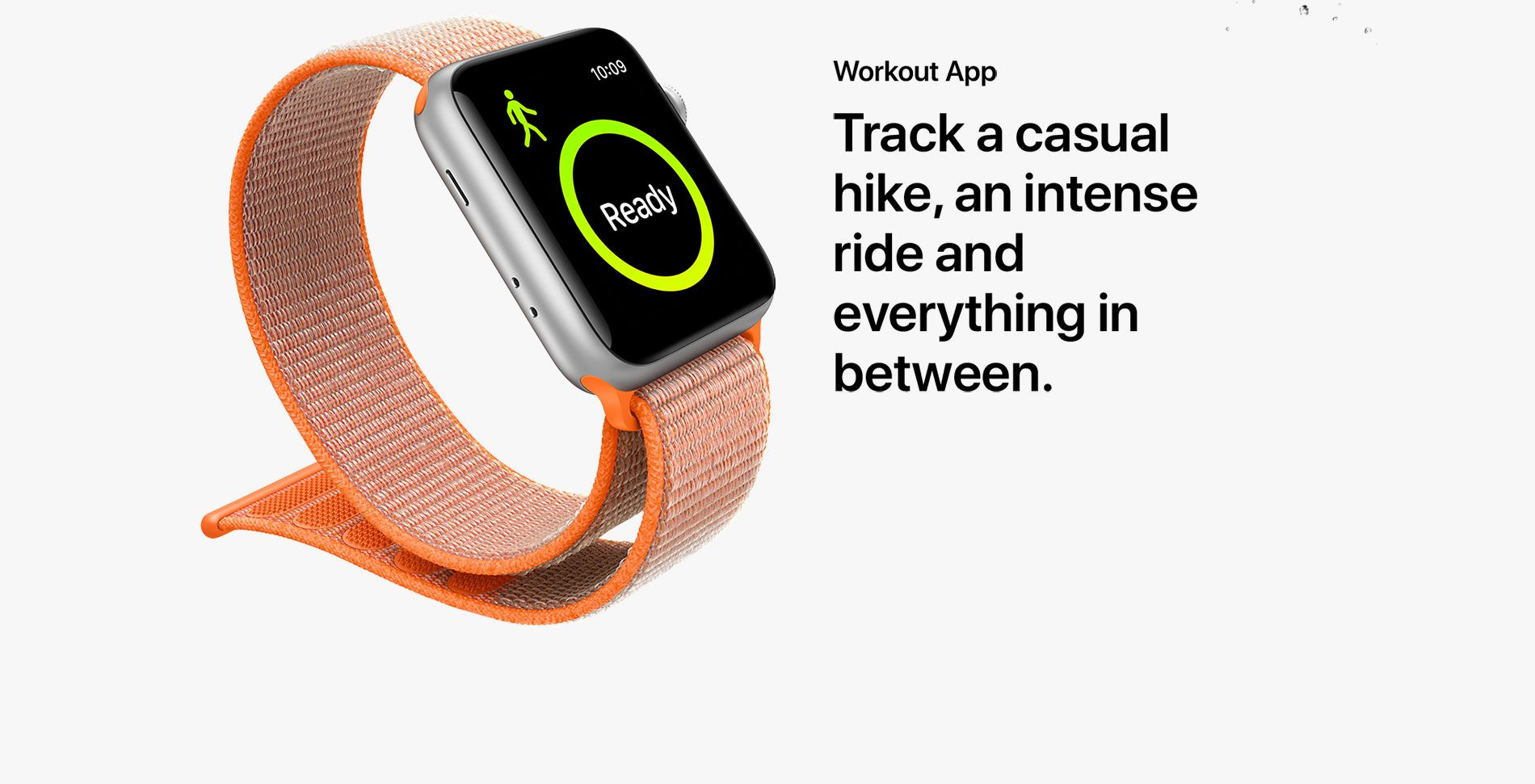 Workout App - Track a casual hike, an intense ride and everything in between