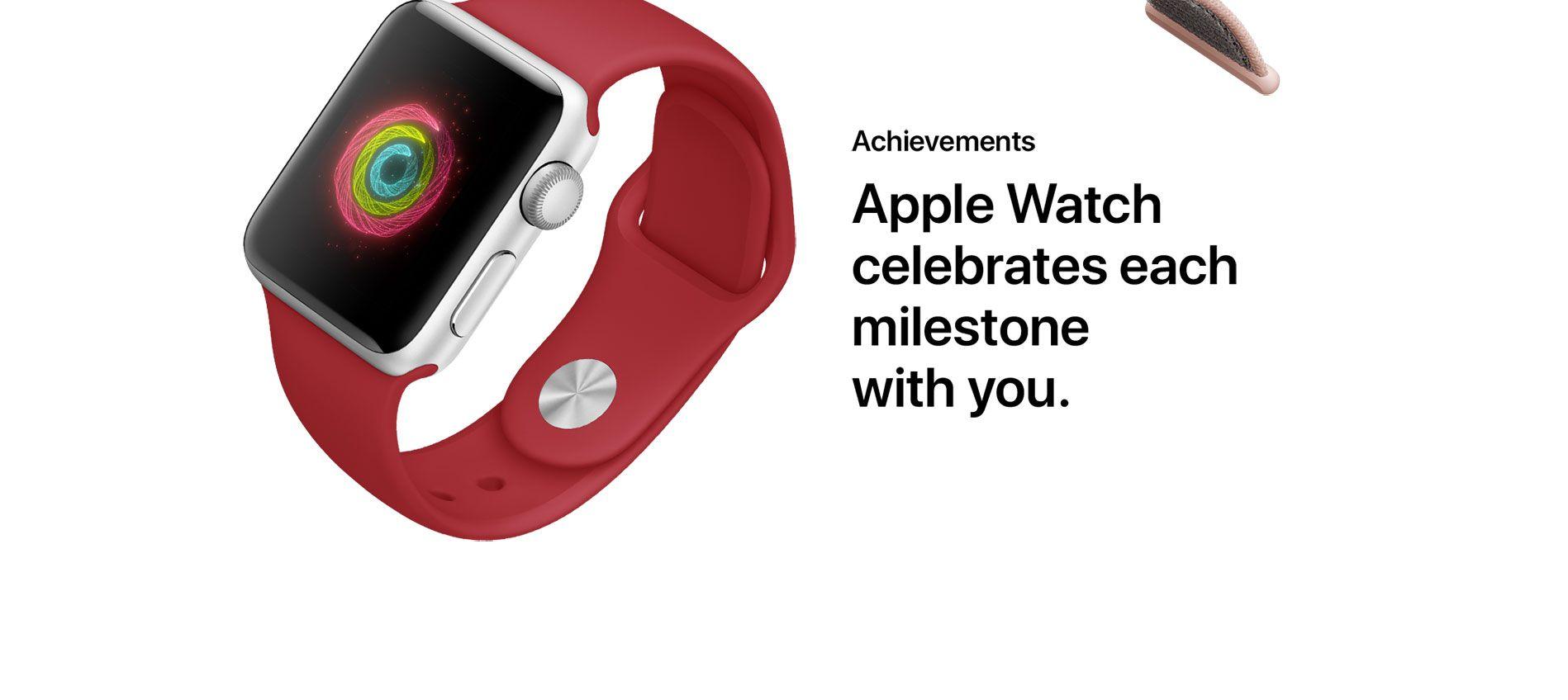 Achievements - Apple Watch celebrates each milestone with you