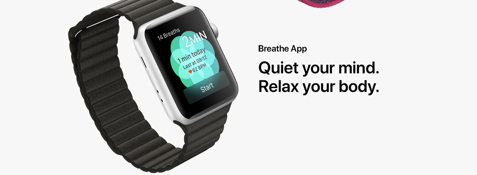 Breathe App - Quiet your mind. Relax your body.