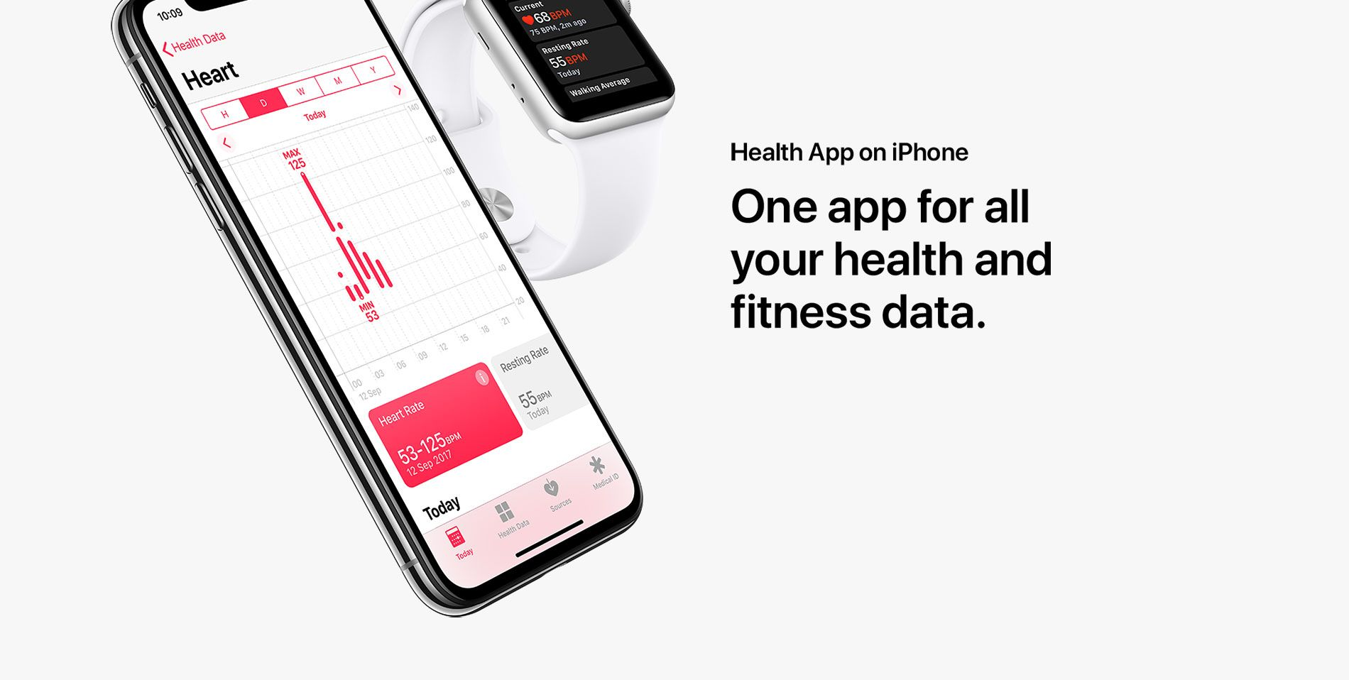 Health App on iPhone - One app for all your health and fitness data