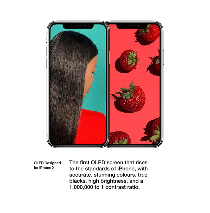 Find out more about iPhone X