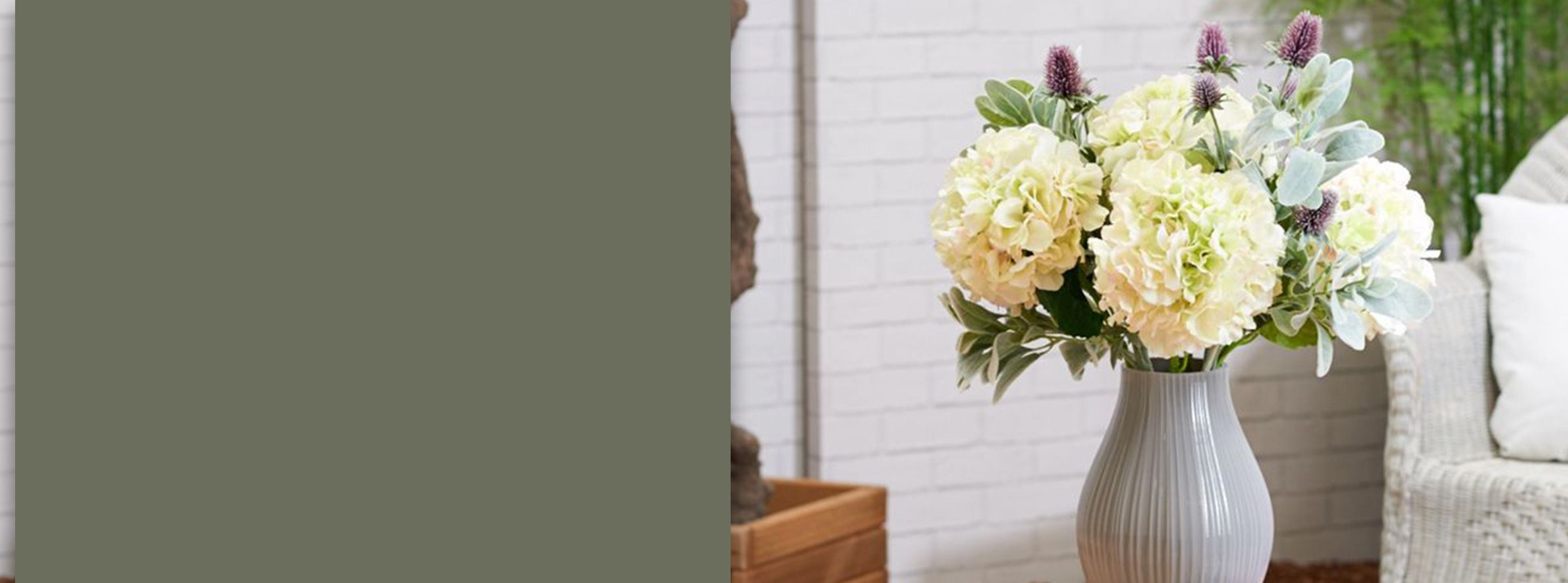 8 Ways With Artificial Flowers Vases