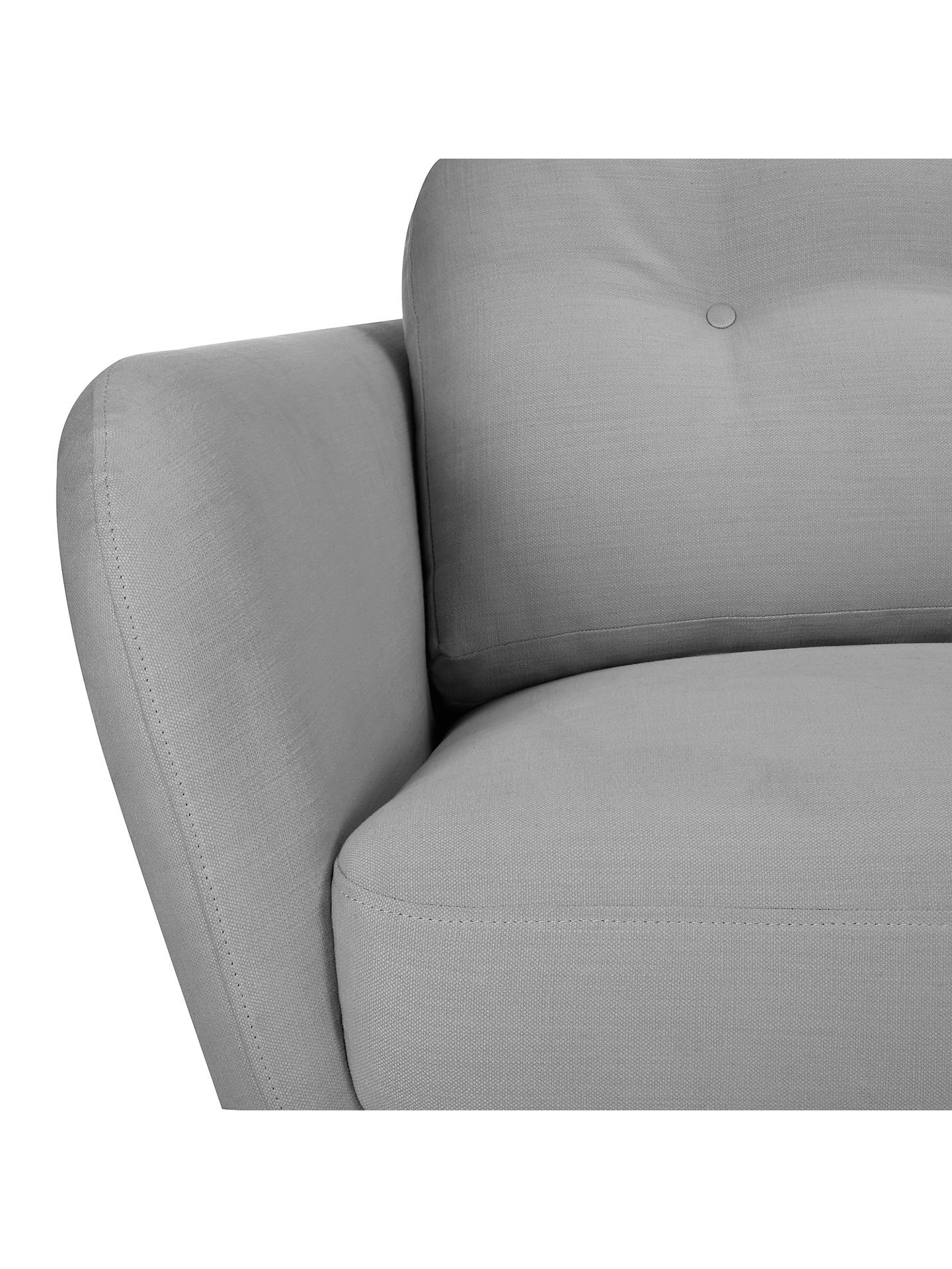 BuyHouse by John Lewis Arlo Armchair, Dylan Charcoal Online at johnlewis.com