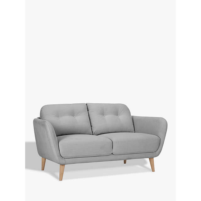 House By John Lewis Arlo Small 2 Seater Sofa, Light Leg At