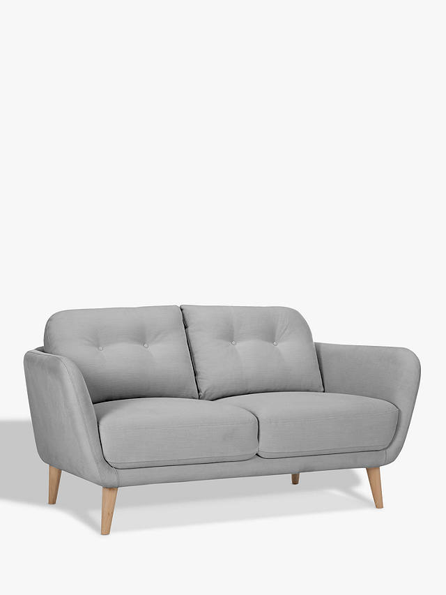 House By John Lewis Arlo Small 2 Seater Sofa Light Leg Online At Johnlewis