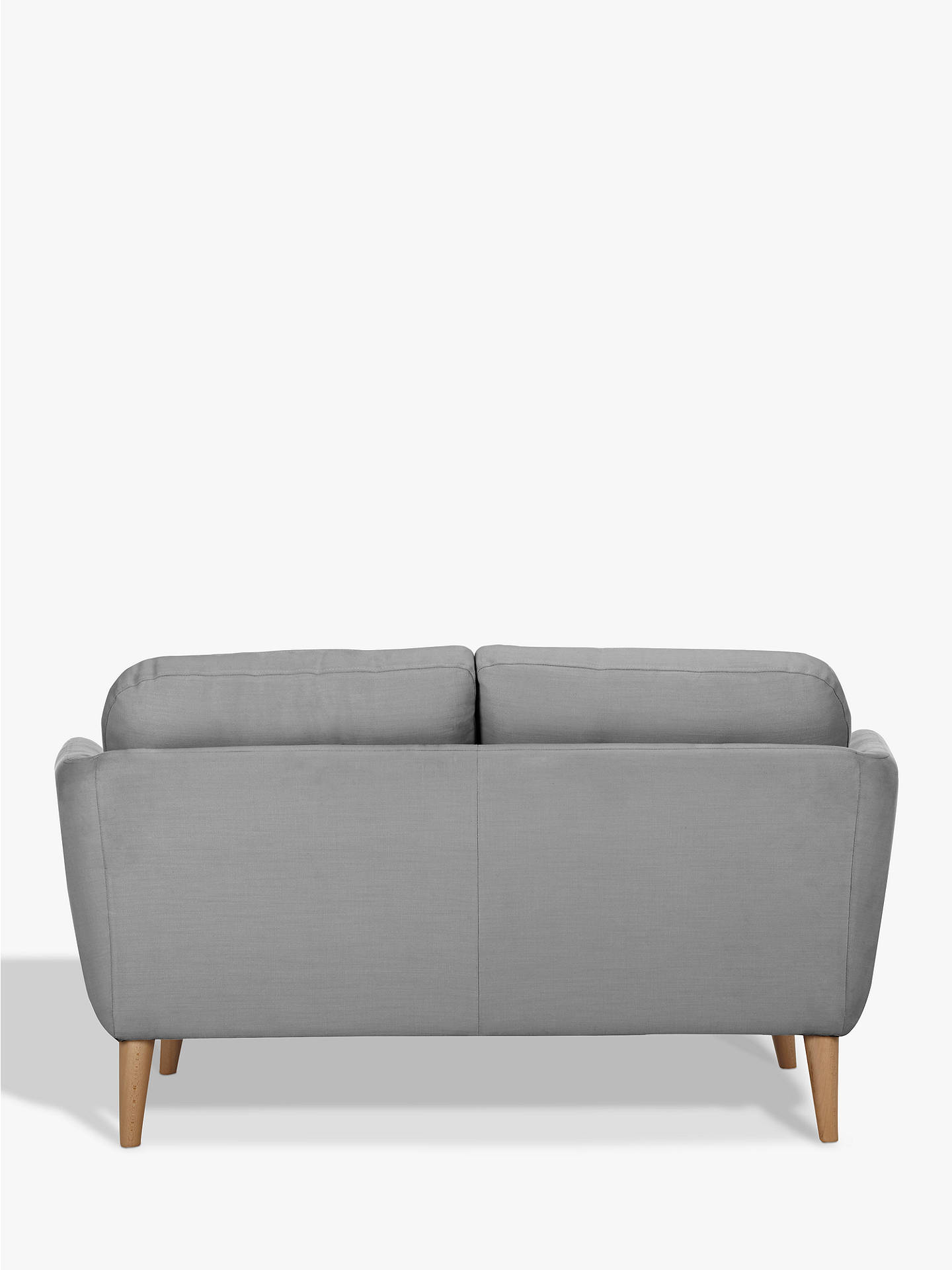 Buy House by John Lewis Arlo Small 2 Seater Sofa, Light Leg, Erin Midnight Online at johnlewis.com