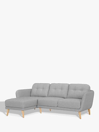 House by John Lewis Arlo LHF Chaise End Sofa
