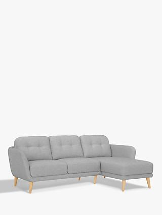 House by John Lewis Arlo RHF Chaise End Sofa