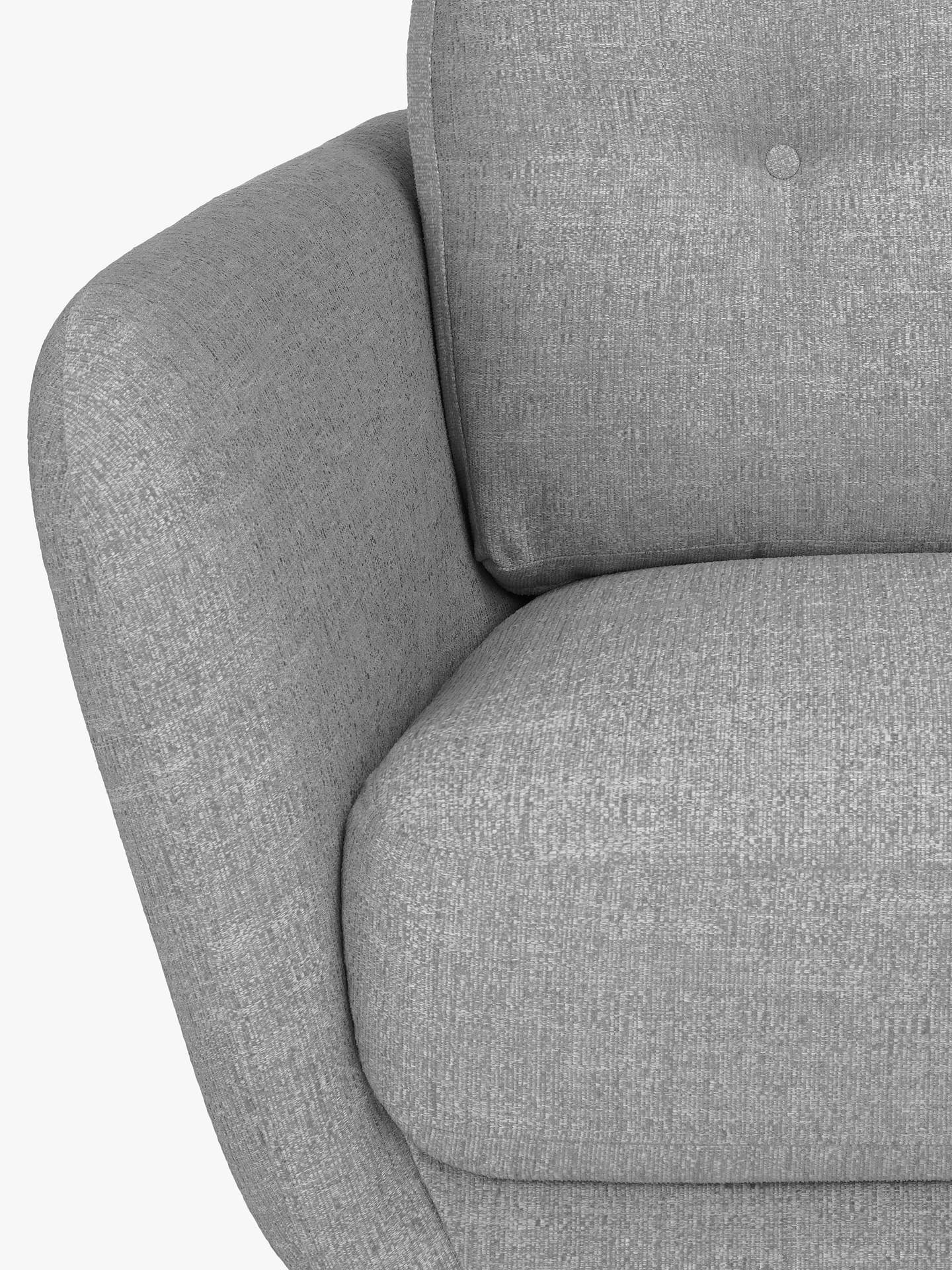 BuyJohn Lewis & Partners Arlo Large 3 Seater Sofa, Light Leg, Catrin Charcoal Online at johnlewis.com