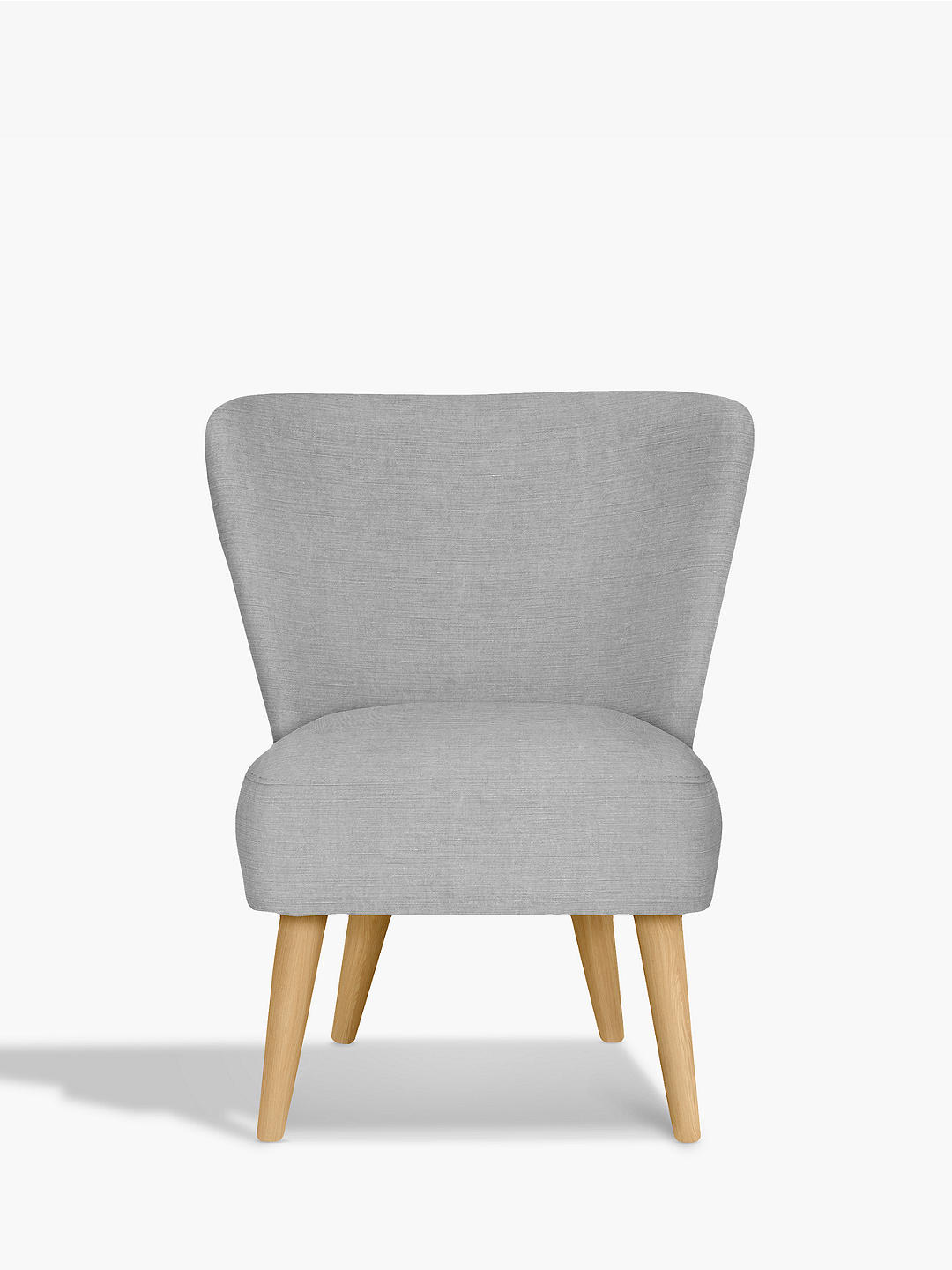 Buy House by John Lewis Audrey Accent Chair, Light Leg, Hatton Teal Online at johnlewis.com