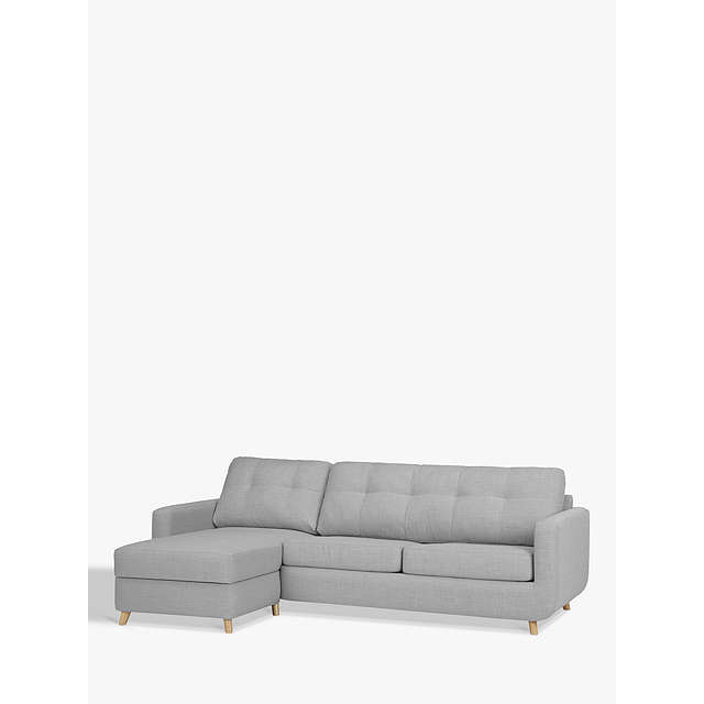 BuyJohn Lewis Barbican LHF Chaise Sofa Bed with Storage Online at johnlewis.com