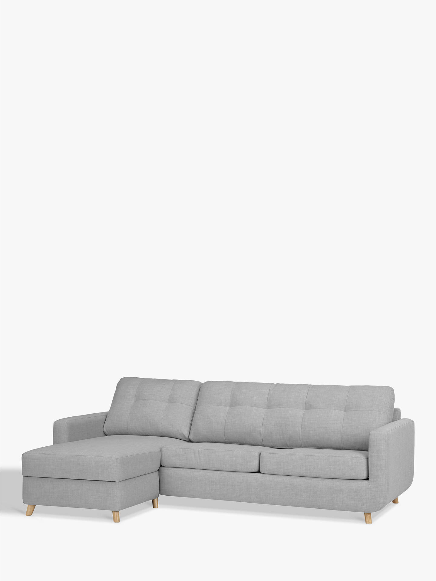 John Lewis & Partners Barbican LHF Chaise Sofa Bed with Storage at ...