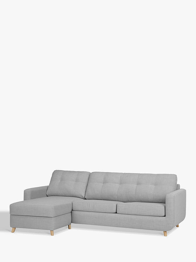 John Lewis Partners Barbican Lhf Chaise Sofa Bed With Storage Online At Johnlewis