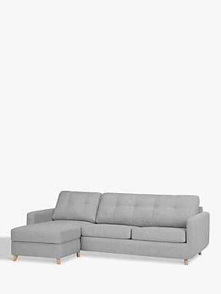 John Lewis & Partners Barbican LHF Chaise Sofa Bed with Storage