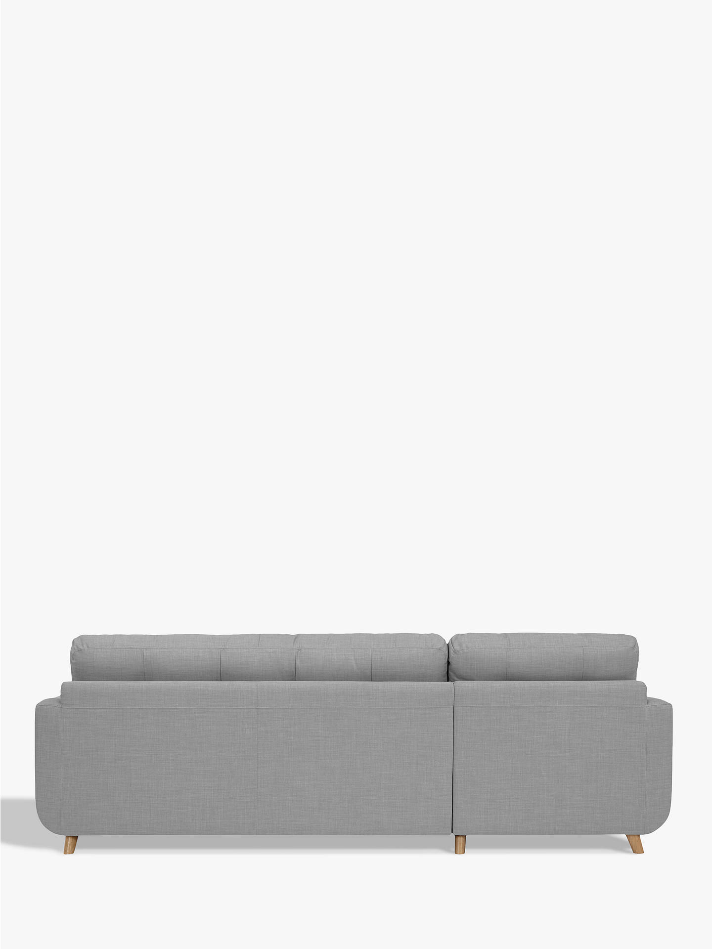 John Lewis Partners Barbican Lhf Chaise Sofa Bed With Storage