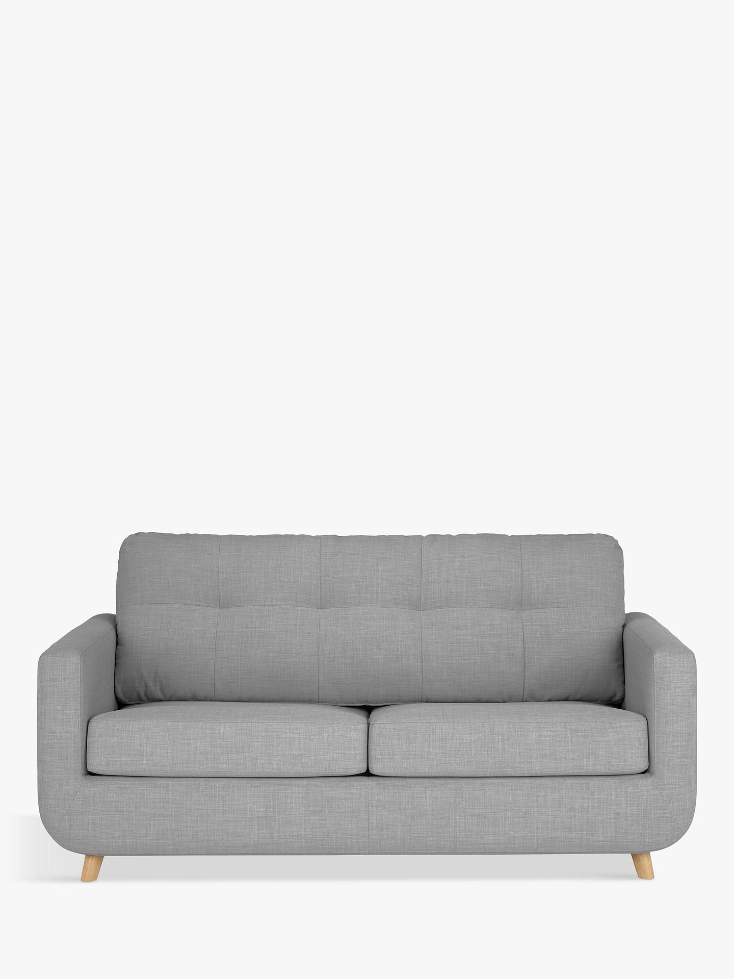 Terrific John Lewis Partners Barbican Medium 2 Seater Sofa Bed Light Leg Connie Grey Ocoug Best Dining Table And Chair Ideas Images Ocougorg