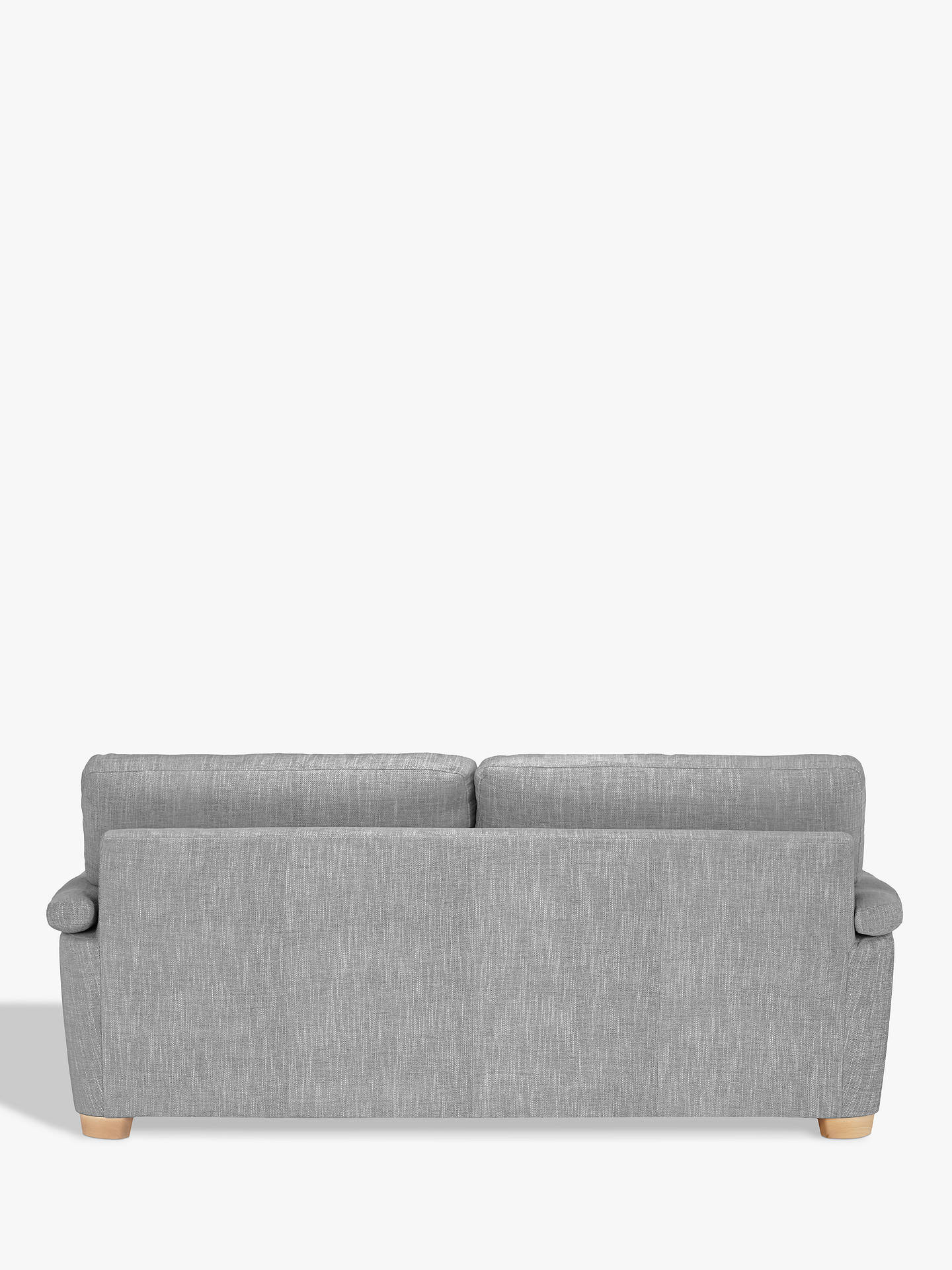 Buy John Lewis & Partners Camden Large 3 Seater Sofa, Light Leg, Catrin Charcoal Online at johnlewis.com