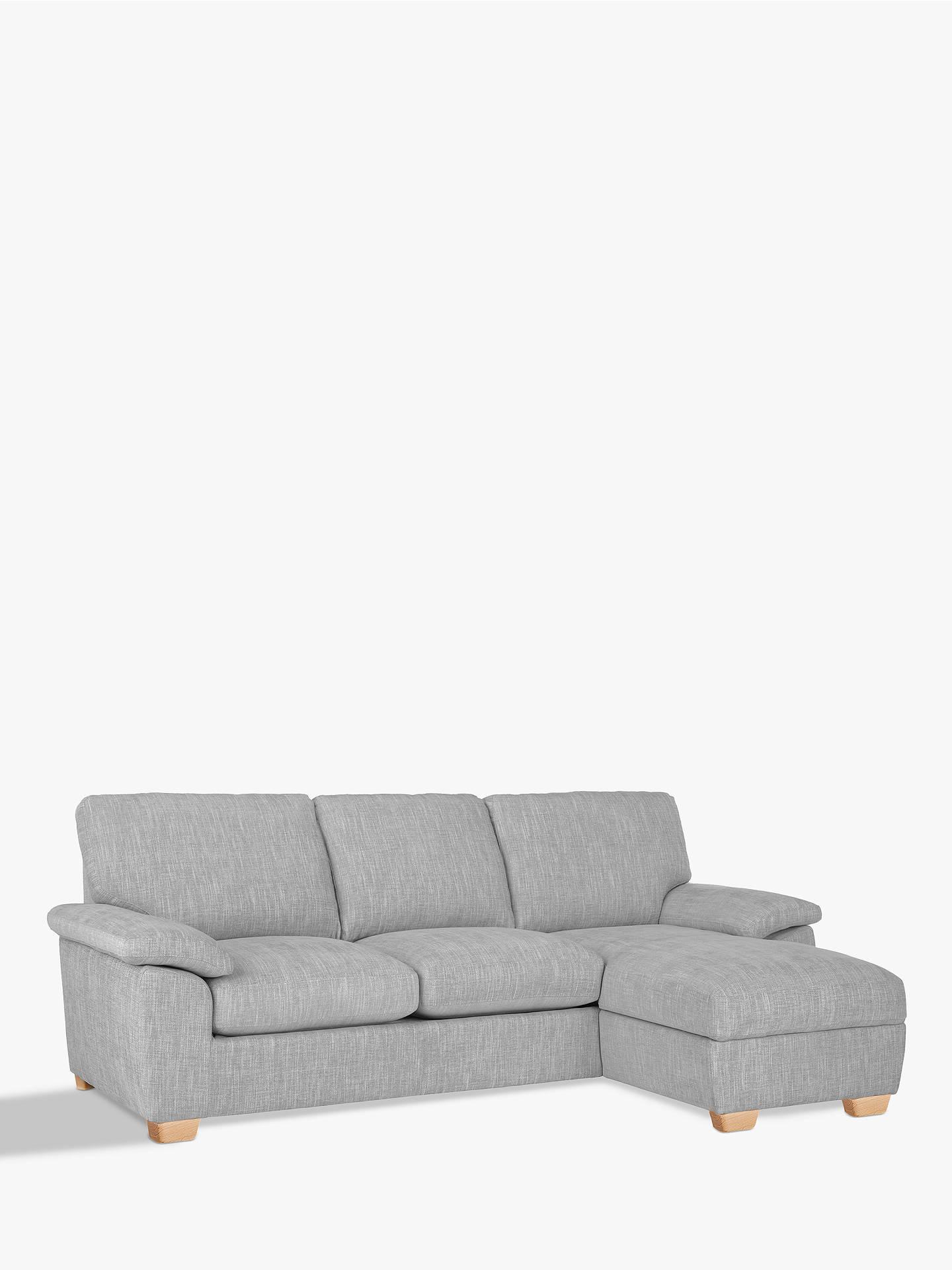 John Lewis Partners Camden Rhf Storage Chaise End Sofa Bed At John