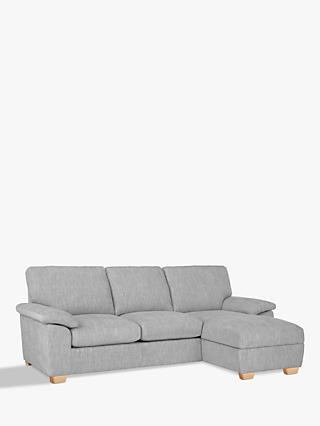 John Lewis & Partners Camden RHF Storage Chaise End Sofa Bed