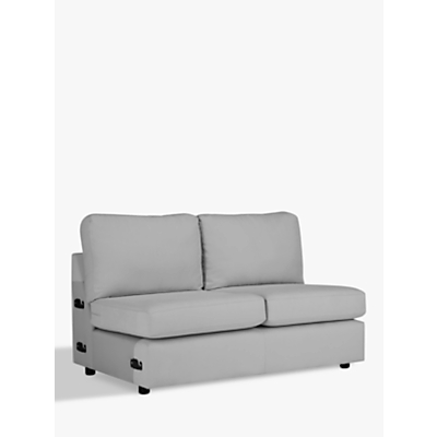 House by John Lewis Oliver Modular Medium 2 Seater Armless Sofa Unit