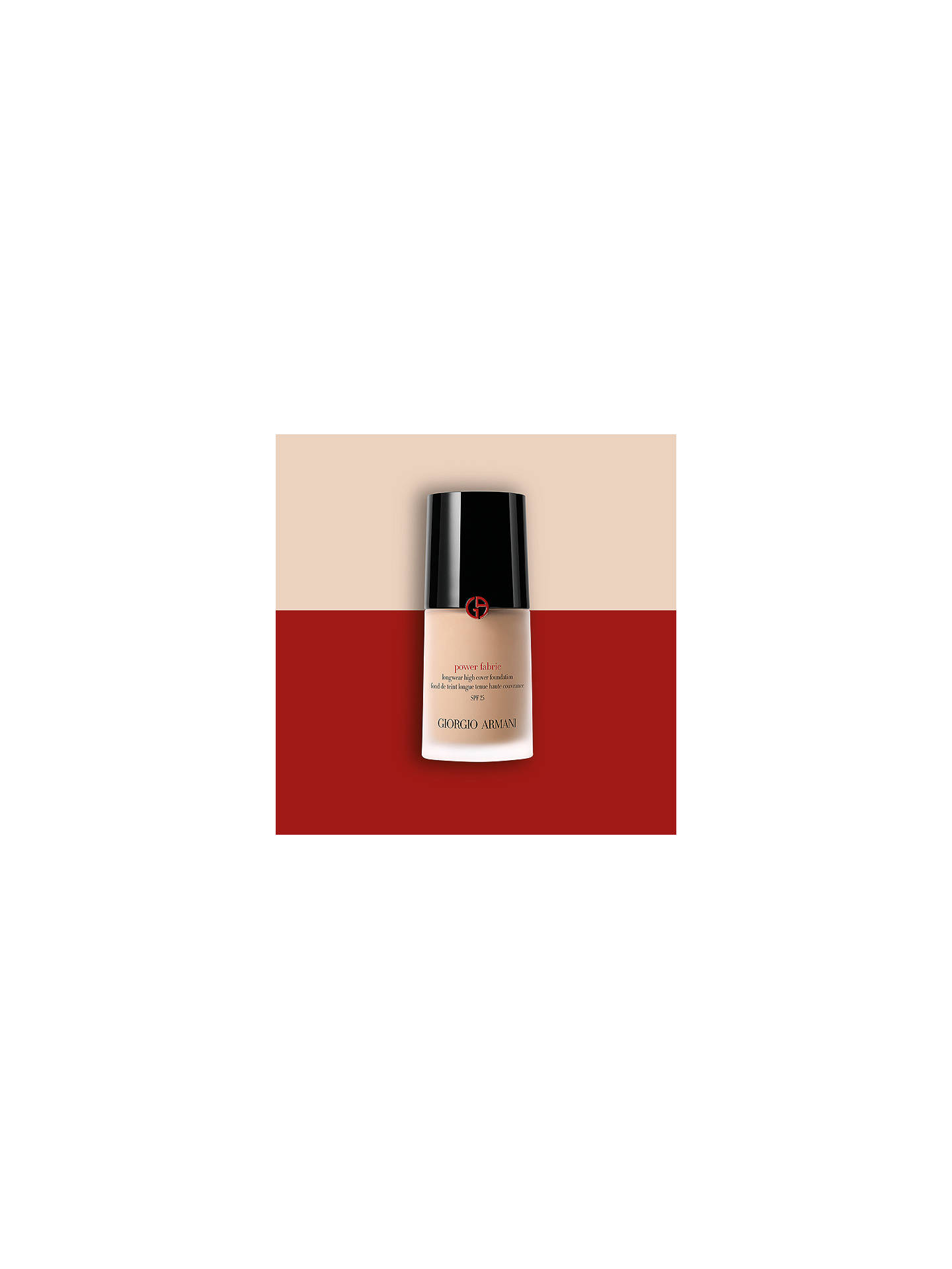 Buy Giorgio Armani Power Fabric Foundation, 3 Online at johnlewis.com