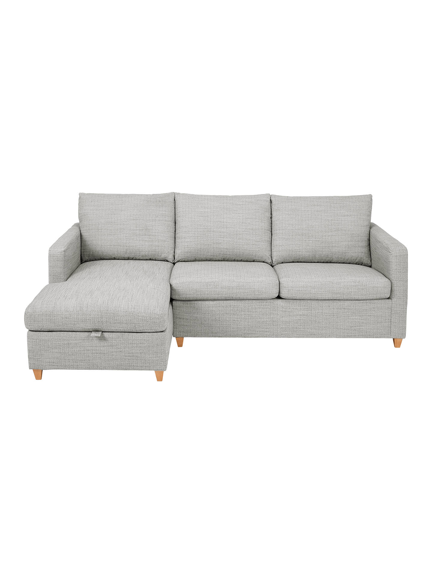 John Lewis & Partners Bailey LHF Chaise End Sofa Bed