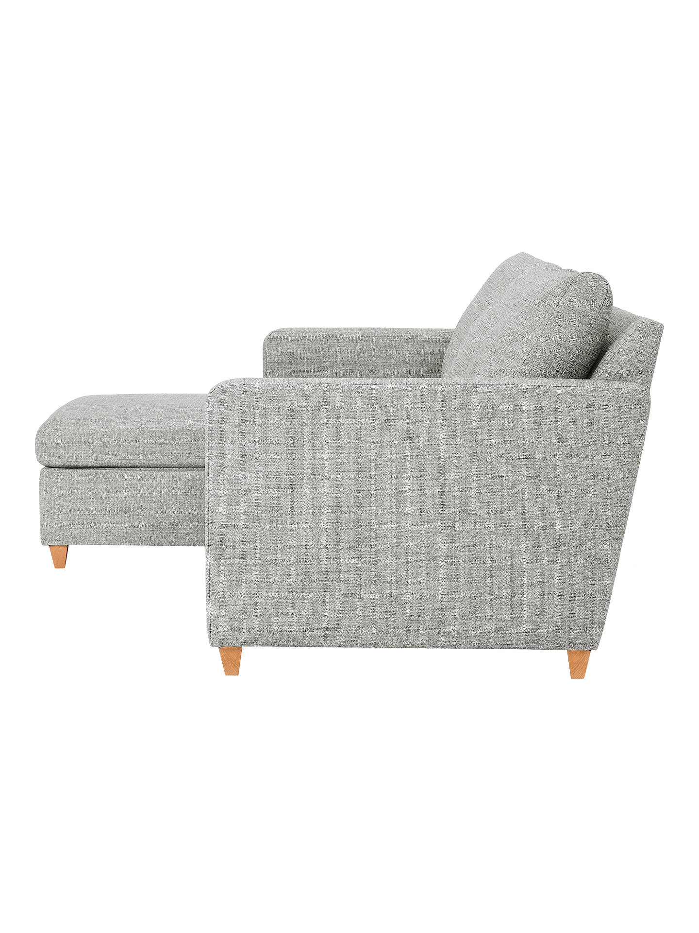 0f4e37a41142 ... Buy John Lewis & Partners Bailey LHF Chaise End Sofa Bed Online at  johnlewis. ...