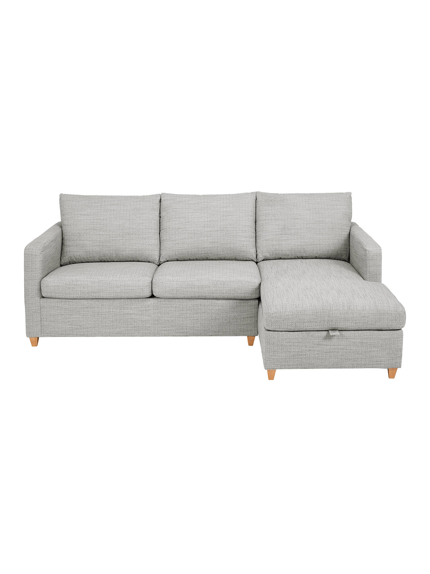 John Lewis & Partners Bailey RHF Chaise End Sofa Bed at John Lewis ...