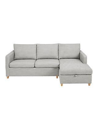 John Lewis & Partners Bailey RHF Chaise End Sofa Bed
