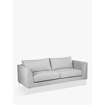 John Lewis & Partners Belgrave Large 3 Seater Sofa, Metal Leg
