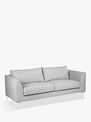 John Lewis & Partners Belgrave Large 3 Seater Sofa, Metal Leg