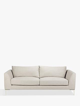 John Lewis & Partners Belgrave Medium 2 Seater Sofa, Metal Leg