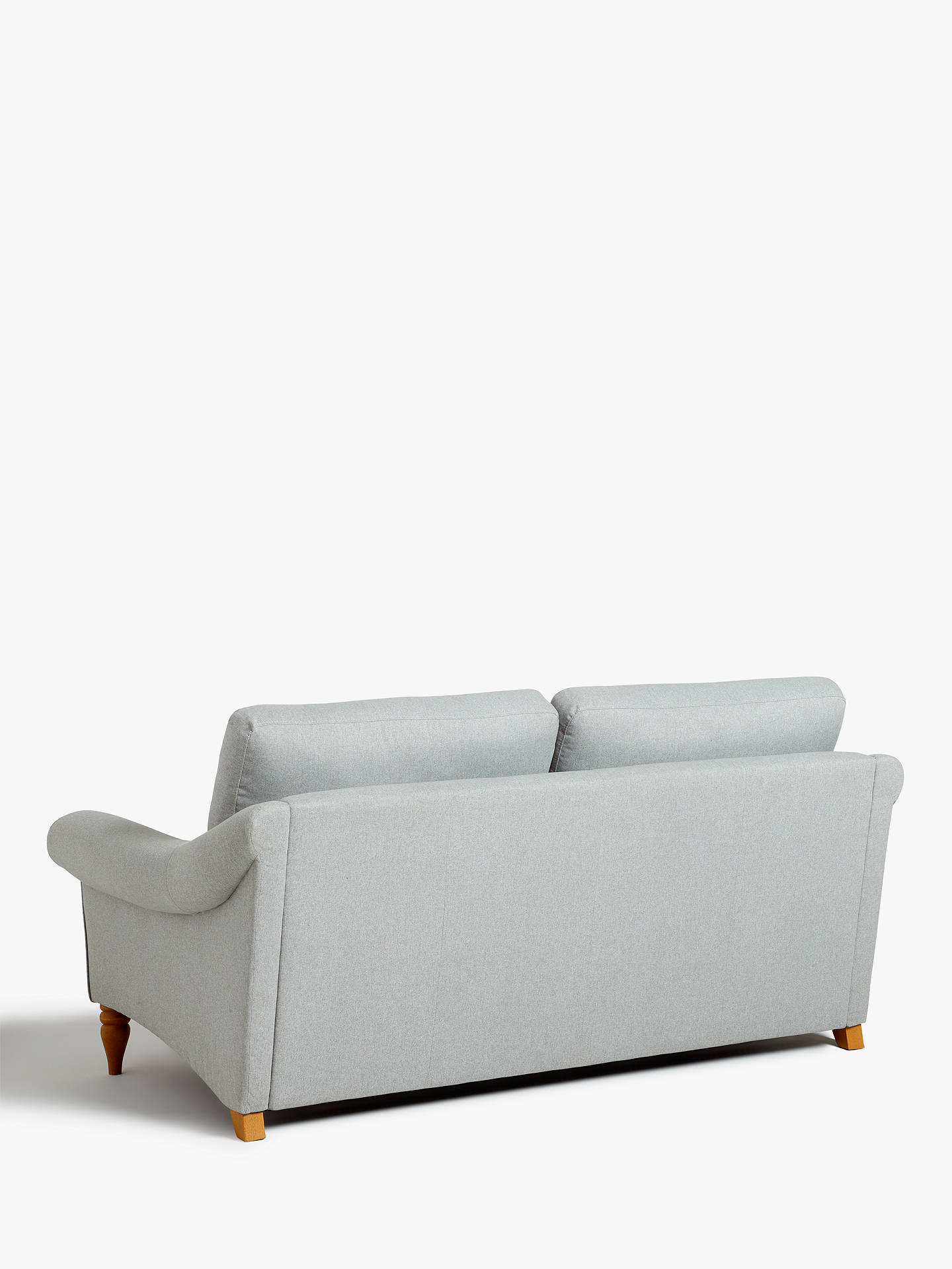 Buy John Lewis & Partners Camber Large 3 Seater Sofa, Light Leg, Aquaclean Matilda Duck Egg Online at johnlewis.com