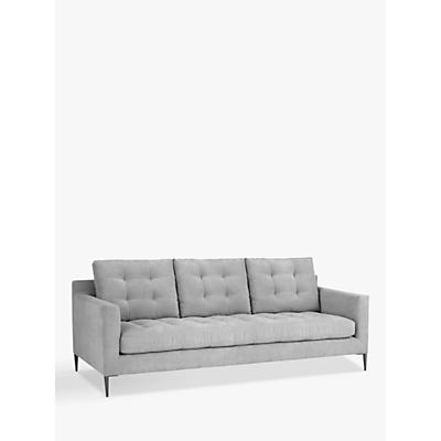 John Lewis & Partners Draper Grand 4 Seater Sofa, Metal Legs
