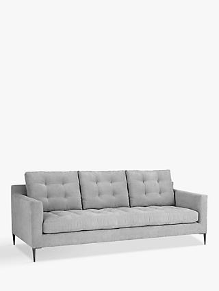 John Lewis & Partners Draper Grand 4 Seater Sofa, Metal Legs