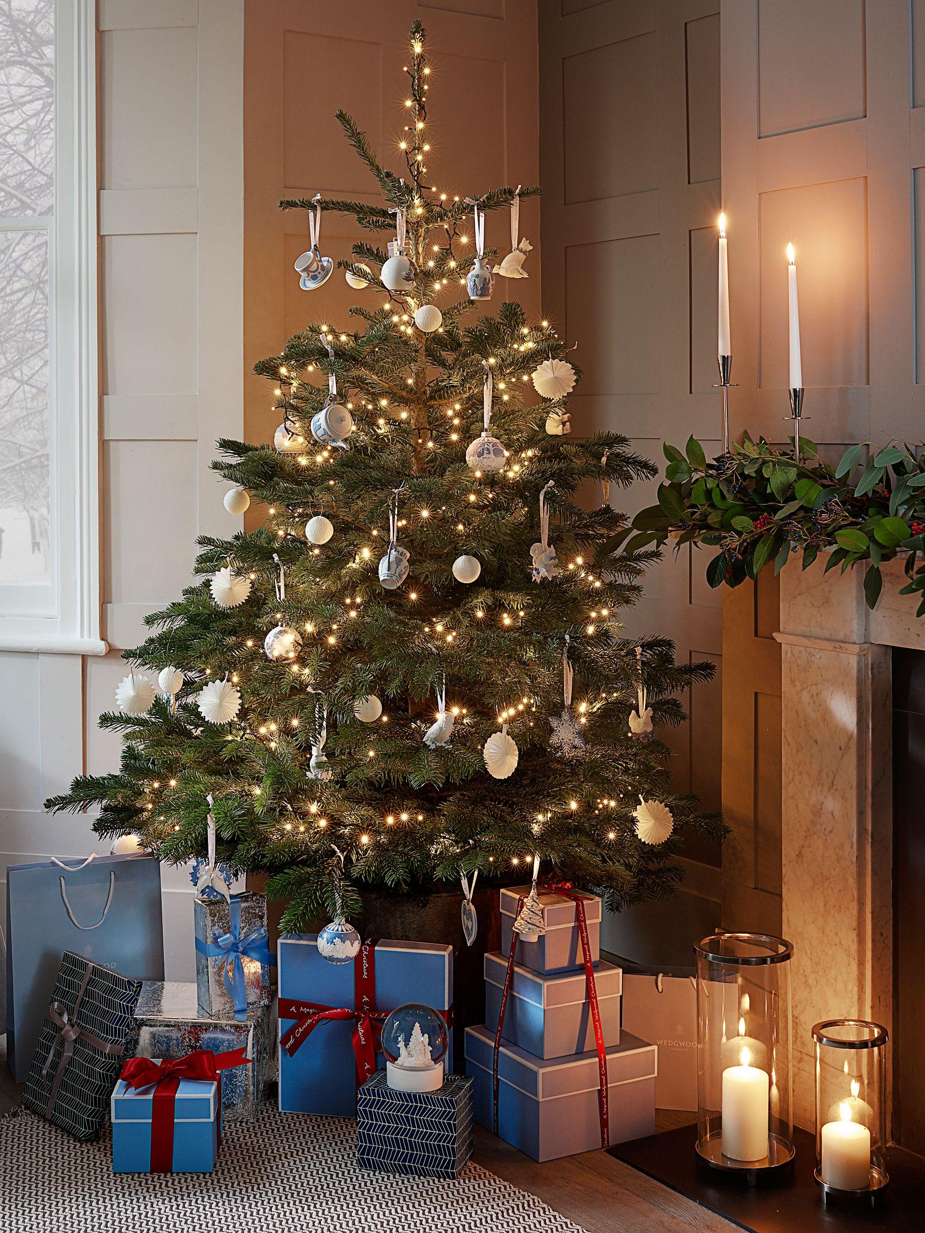 Wedgwood Baby Bear Christmas Tree Decoration Blue At John Lewis Partners