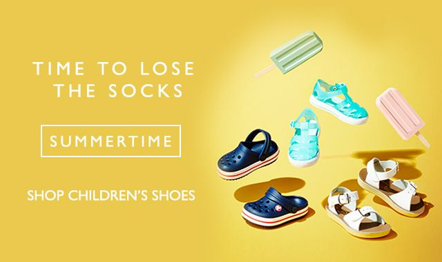 Time to lose the socks - Summertime