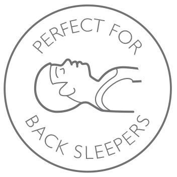 Perfect for back sleepers
