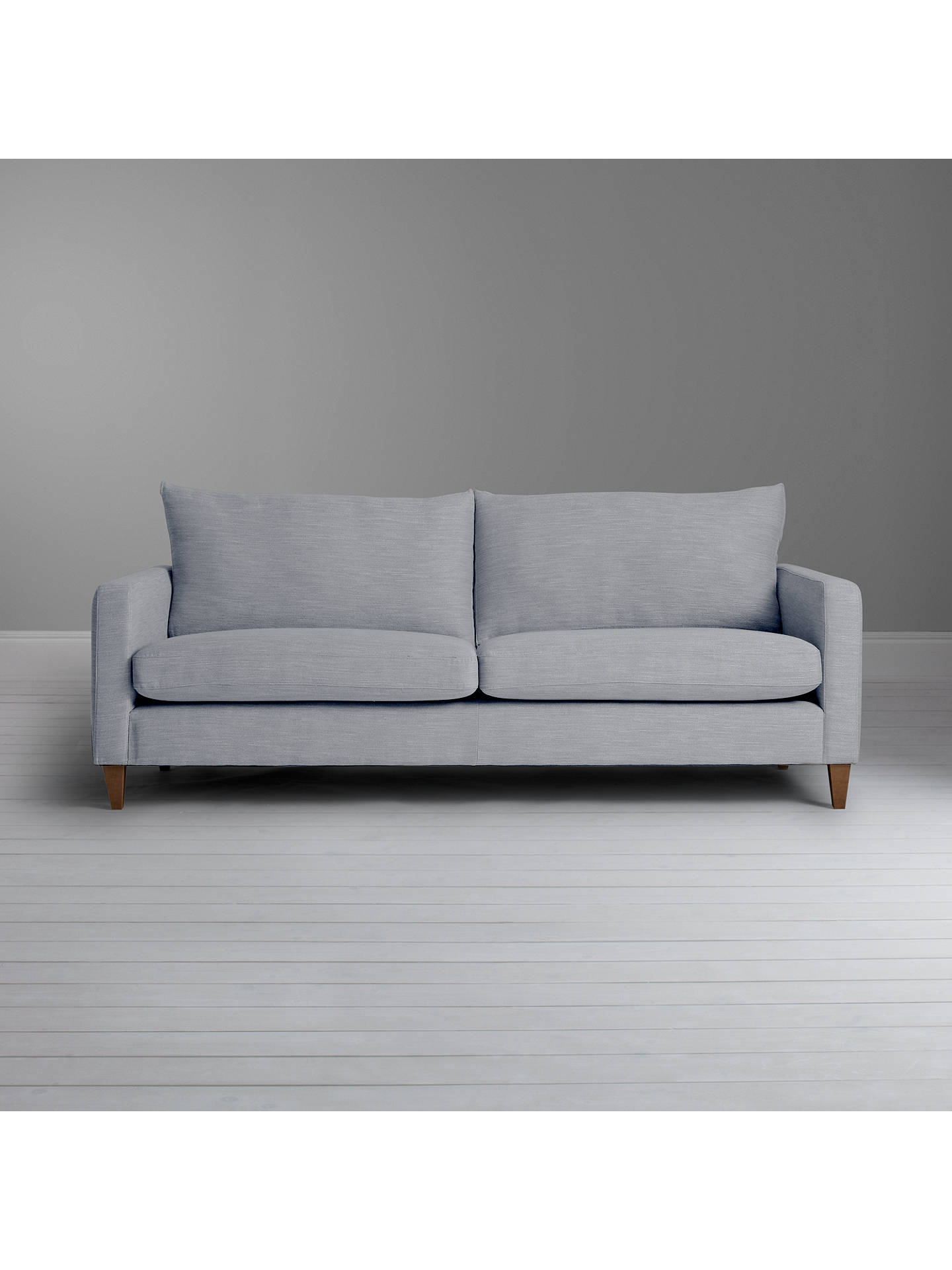 John Lewis Bailey Grand Sofa Fraser Charcoal At