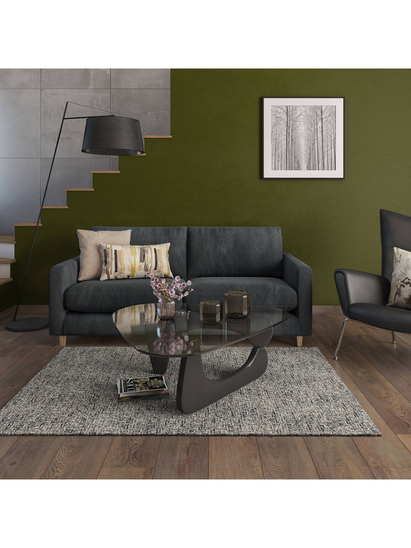 John Lewis Partners Bailey Large 3 Seater Sofa At