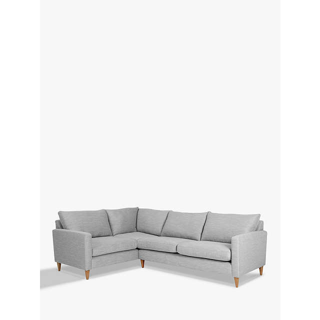 John Lewis Cooper Corner Sofa: John Lewis Bailey Fixed Cover LHF Corner End Sofa At John
