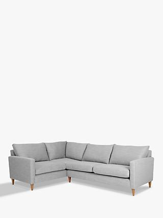 John Lewis & Partners Bailey Fixed Cover LHF Corner End Sofa