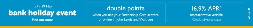 Bank holiday double points