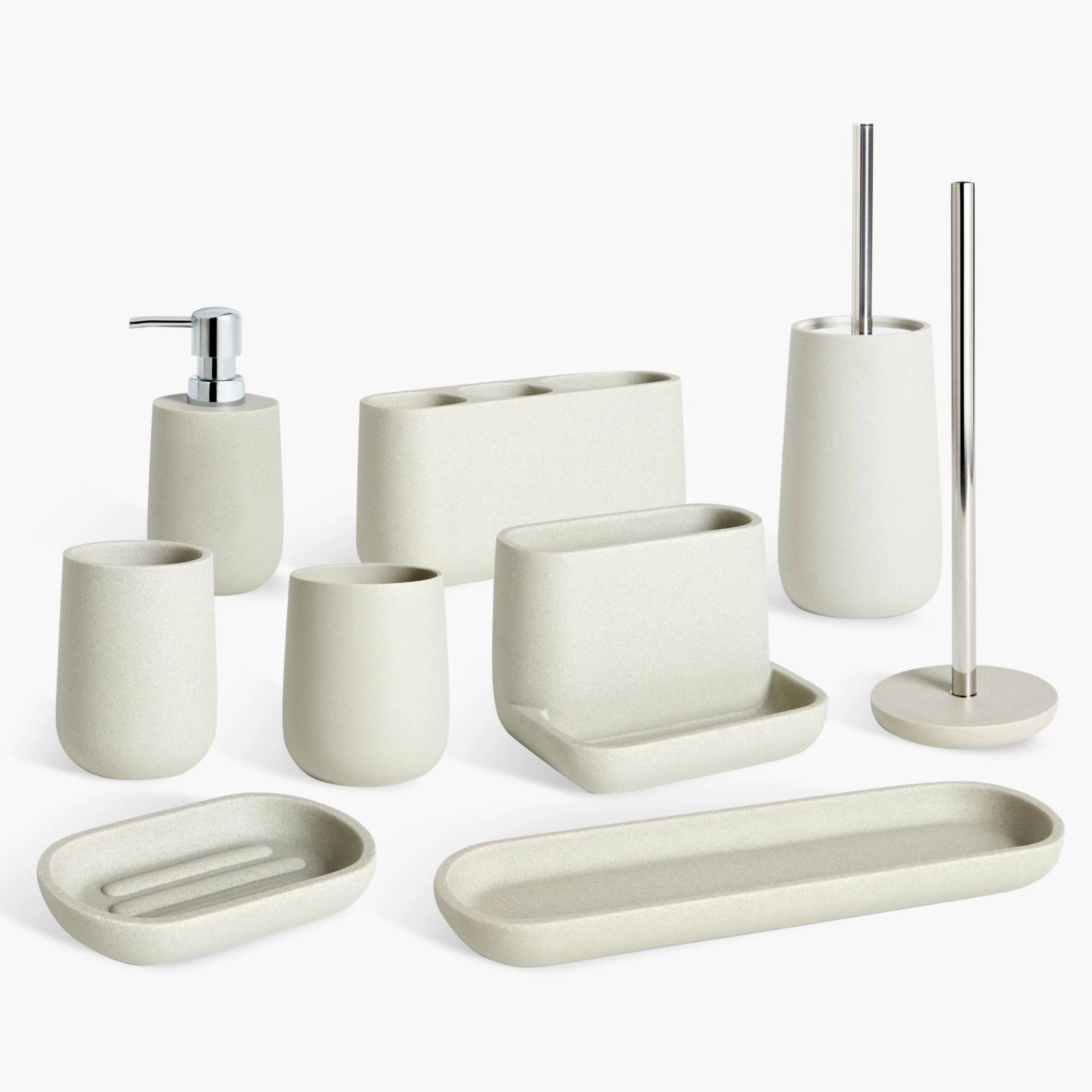 Bathroom Utensils Stock Vector Royalty Free 90807824